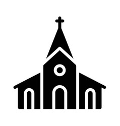Church icon thanksgiving related vector