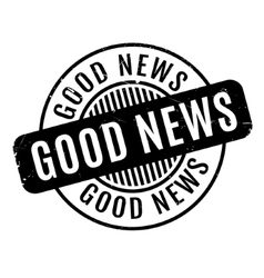 Good News rubber stamp vector