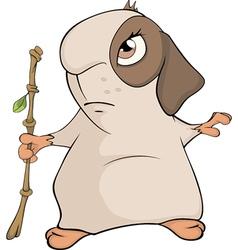 Guinea pig cartoon vector