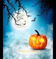 Halloween spooky background vector