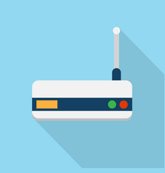 wifi router icon set of great flat icons with vector image