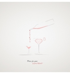 Your menu design vector image