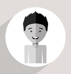 avatar male vector image