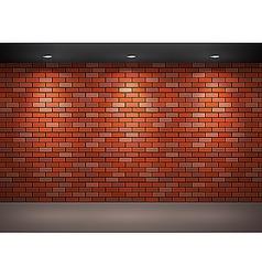 brick wall vector image vector image