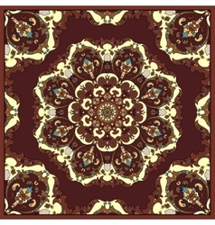 dark red scarf vector image