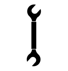 wrench construction tool vector image vector image
