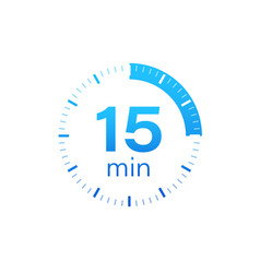 15 minutes stopwatch icon stopwatch vector