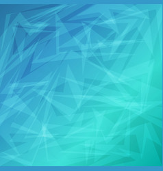 Blue bright abstract geometric background for vector