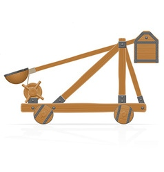 catapult 01 vector image