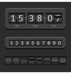 Countdown Board vector image