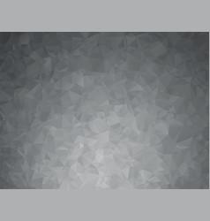 dark metal gray geometric background vector image