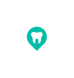 dental point logo icon design vector image
