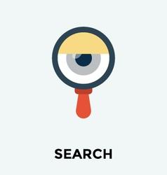 Eye Search Icon vector image
