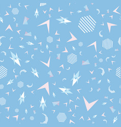 Funny pattern memphis style vector