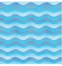 marine wave seamless pattern vector image