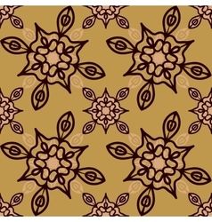 Medieval looking Print for fabric seamless vector image