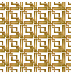 Abstract repeatable background of golden twisted vector