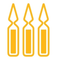 Ampoules Icon vector