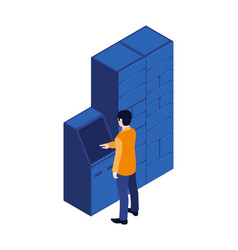 Automated parcel terminal composition vector