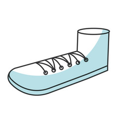 Grandfather shoe isolated icon vector