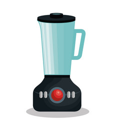 Home appliance blender isolated icon vector