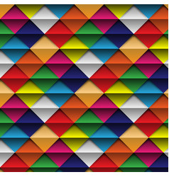 seamless pattern colorful abstract background vector image