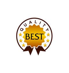 Template emblem best quality vector