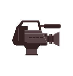 video camera movie camera icon vector image