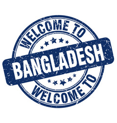 welcome to bangladesh vector image