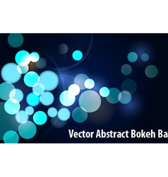 bokeh vector image vector image