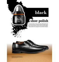 Men shoes realistic set vector