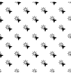 Cursor of mouse arrow clicks pattern simple style vector