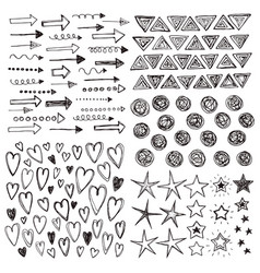 Doodles collection vector