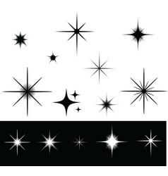 Sparkles vector