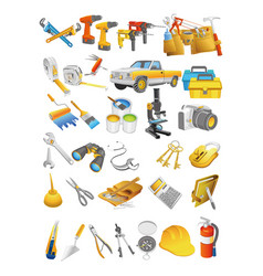 tool clipart templates2 vector image