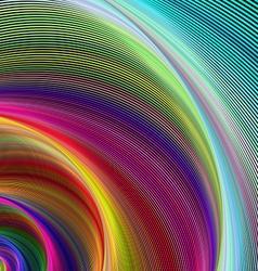 Vortex of colors vector