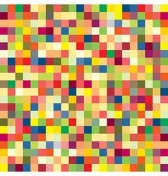 Colorful pixel pattern vector image vector image