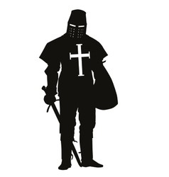 Crusader Warriors Theme vector image vector image
