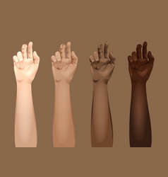 women arms templates vector image