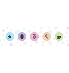 Badge icons vector