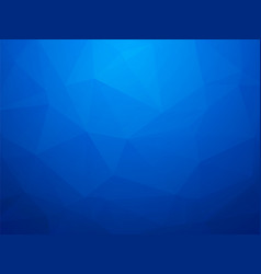 modern blue triangular with a light switch vector image
