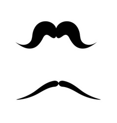 moustache icon design vector image