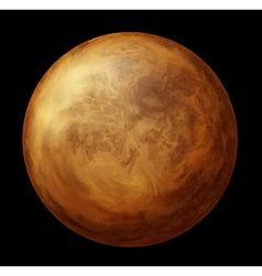 Planet Venus vector image