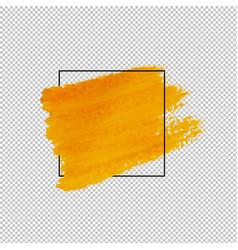 Sale banner with blot transparent background vector