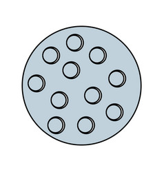 Sport golf ball vector