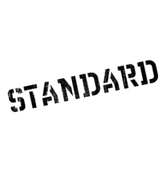 Standard rubber stamp vector image