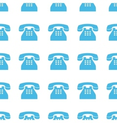 Unique Telephone seamless pattern vector image