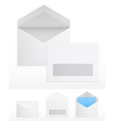 blank envelops vector image