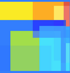 Abstract background of different colored squares vector