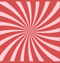 bright pink abstract swirling radial pattern vector image